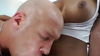 Sexy Latina Ts Jane Bends For Anal Sex