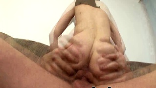 Russian Slut Screwed On Couch !!