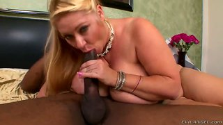 Fatty And Busty Samantha 38G In The Interracial Scene With Sean Michaels