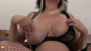 Big Titted Mature Nympho Mom Getting Very Naughty