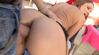 Remy Lacroix Gets A Big Dick Deep In Her Sweet Teen Ass