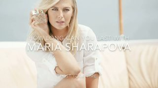 Maria Sharapova Jerk Off Challenge