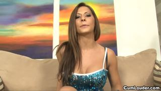 Babe madison ivy loves to suck and fuck cocks