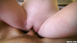 Zoey nixon with giant hooters makes her dirty dreams a reality with dude's meat pole in her mouth