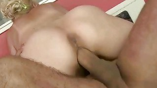 Busty Grandma Gets Fucked Rough
