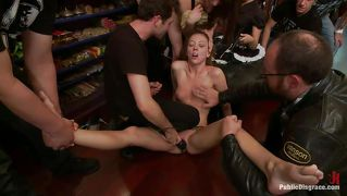 Maddy O'reilly Gets Some Pleasure, Then Some Pain