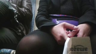 Train - Woman Sitting In Front Of Me