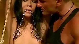 Master Humiliating And Punishing Her Slavegirl