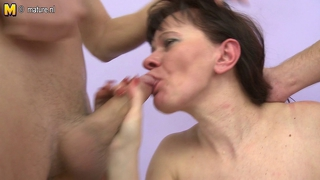 Two Boys Fuck Mature Mother Real Nice