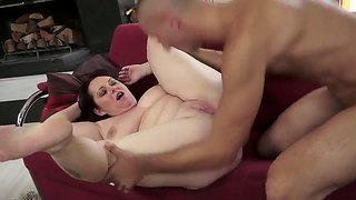Hot And Extremely Fat Old Bbw Melany Enjoys Cock Sucking And Getting Her Meaty Body Fondled And Fucked Properly