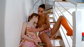 Sweet College Girls Beata And Natasha Playing