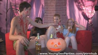 Halloween Home Sex Party