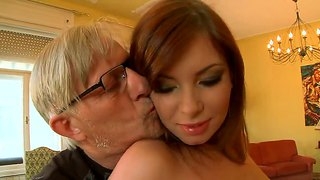 Donna bell grinding on cristoph clark?s old meat