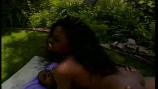 Black Beauty Fucked Outdoors
