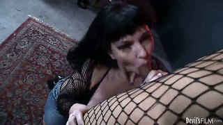 Carrie Ann Banged By Hot Tranny Jessica Fox