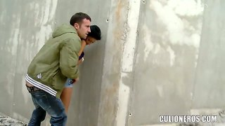 Long haired whore susi gala gets shagged in public