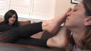 Amelia Foot Fetish Worship
