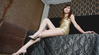 Asian Glamour - Escort Girl In Sexy Clothes - No Porn