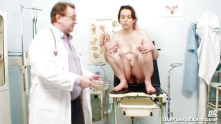 Medical Examination For A Mature Slut
