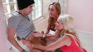 Xander Corvus Was Invited By His Girlfriend Diana Doll For A Threesome Action With Her Mother