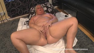 Chubby Swedish Woman Masturbates - Join Now To Watch The Full Scene