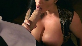 Big Juggs Kerry Louise Fucked N Facialed