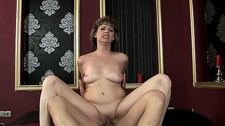 Mature Slut Judyt Jumping Up And Down On Her Boyfriend?s Dick And Passionately Moaning From Great Fuck Pleasure.
