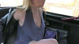 Hot Cougar Passenger Paid To Have Sex