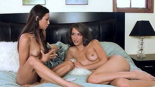 Amazing Sex Goddesses Celeste Star And Malena Morgain In The Naked Interview