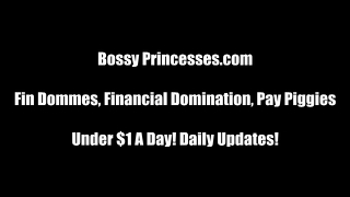 Findom Financial Domination Femdom Vid