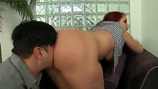 Anthony Rosano Meets Cheeky Ass And Sucking Mouth By Redhead Kelly Divine