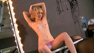 Sweet Faye Barts Is Showing Off Her Horny Shaved Pussy That Is In Wild Need For Hardcore Drilling