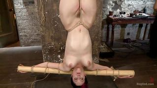 Babe Hanged Upside Down And Punished