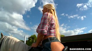 Karen Fisher, Marissa And Rachel Starr Love To Ride