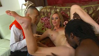 Sexy Blonde Cuckolding Wife Camryn Cross Cheats On Her Husband With A Huge Black Cock!