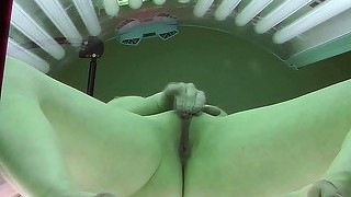 Czech Voyeur In Tanning Bed