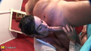 Amateur Mature Mother Sucking And Fucking Hard Cock