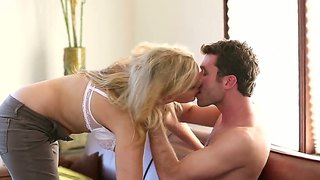 James deen gets his hands on milf julia ann