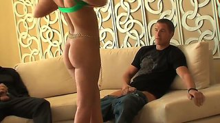 The Voyeur Threesome Scene With Sabrina Sweet And Hot Fuckers - Ramon Nomar And Chris Johnson