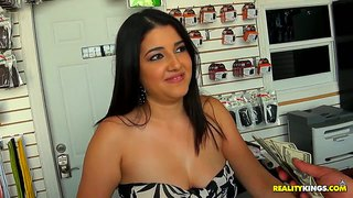 Chubby Latina Candy Shows Jmac Her Titties