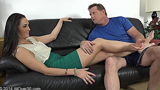 Hubby Satisfies His Wife