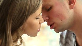 Fantastic and romantic action with a sweet babe candy love and her lover