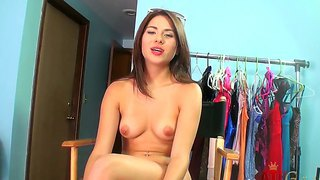 Young Naked Babe Shyla Jennings Has Interview