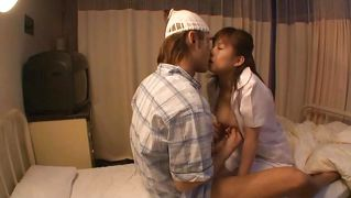 Horny Little Asian Nurse Fucked In The Hospital