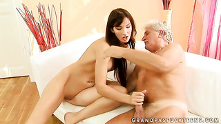 Brunette bailee fucks like a first rate hoe in hardcore action with horny guy