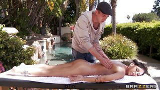 Brandy Anison Gets A Nice Massage