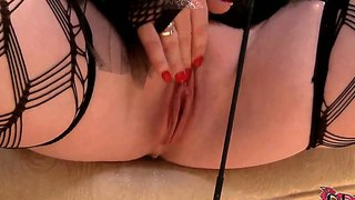 The Dildo Insertion With Delightful Angel Deelight