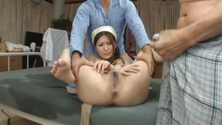 Hot Nurse Treated With Disgrace