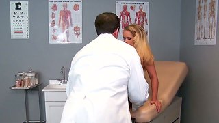 Blonde And Wild Nurse Britney Young Pleases Horny Doctor