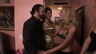 This guy gets hooked up with a naughty transsexual prostitute